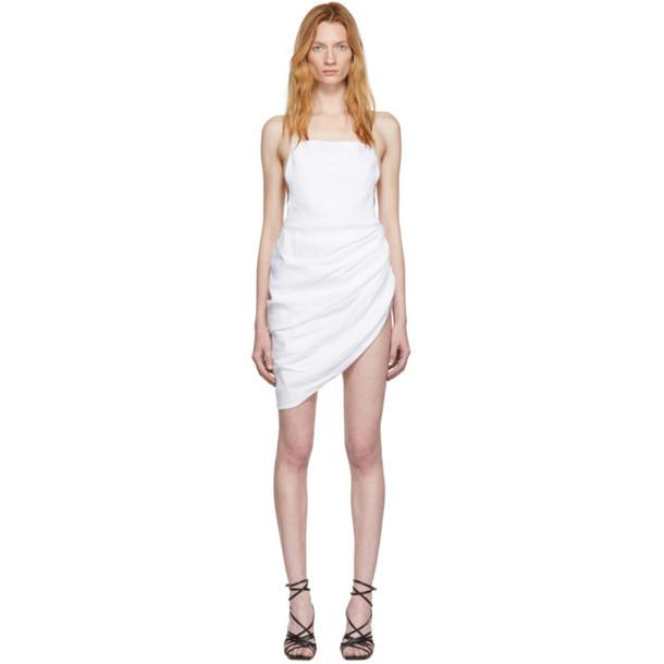 Jacquemus White 'La Robe Saudade' Dress