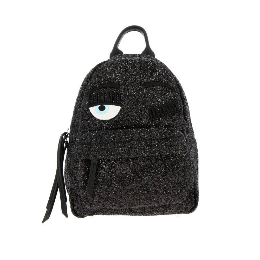 Chiara Ferragni Backpack Shoulder Bag Women Chiara Ferragni in black