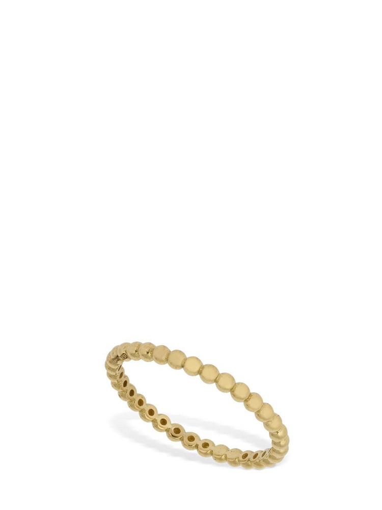 AG 18kt Gold Slim Rigid Chain Ring