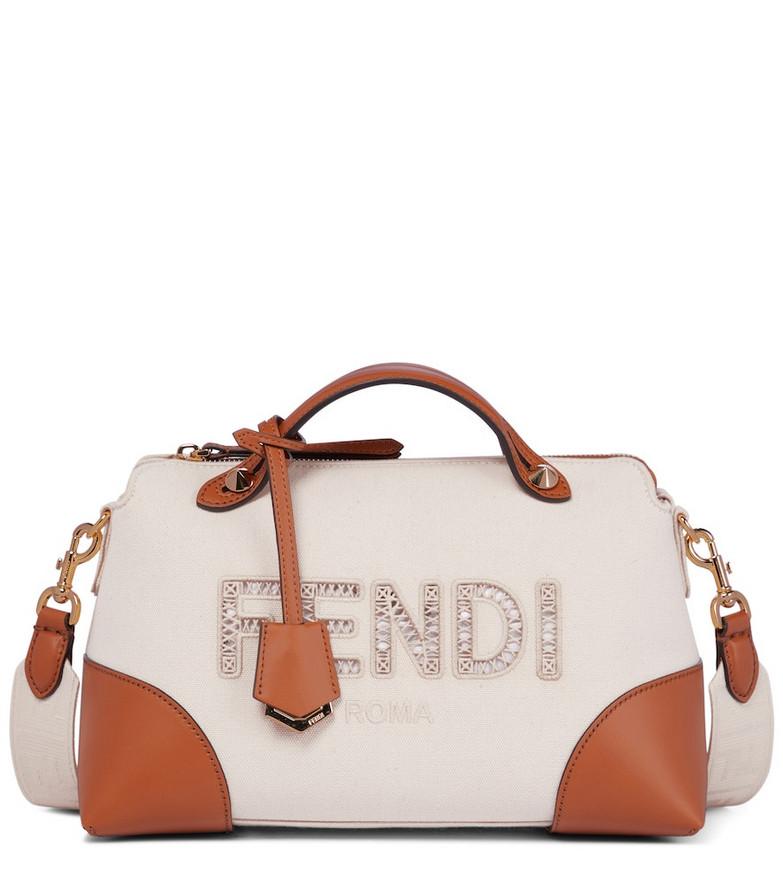 Fendi By The Way Medium shoulder bag in brown