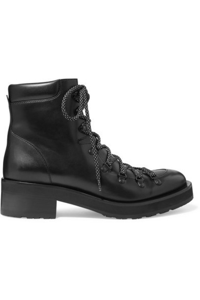 Rupert Sanderson - Roanoke Leather Ankle Boots - Black