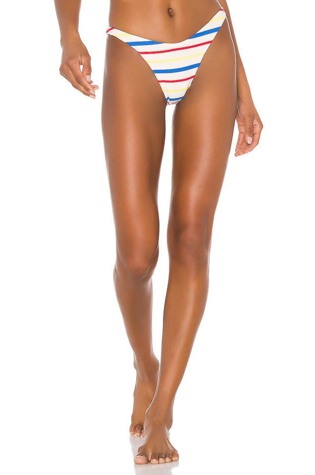 TM Rio de Janeiro X REVOLVE High Leg Brief Bottom in cream