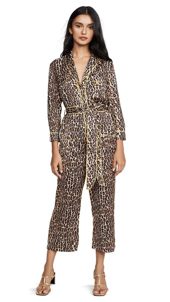 Le Superbe Beatnik Jumpsuit in leopard