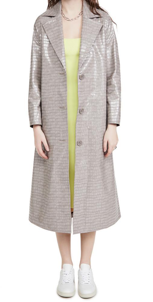 STAND STUDIO Mollie Coat in grey