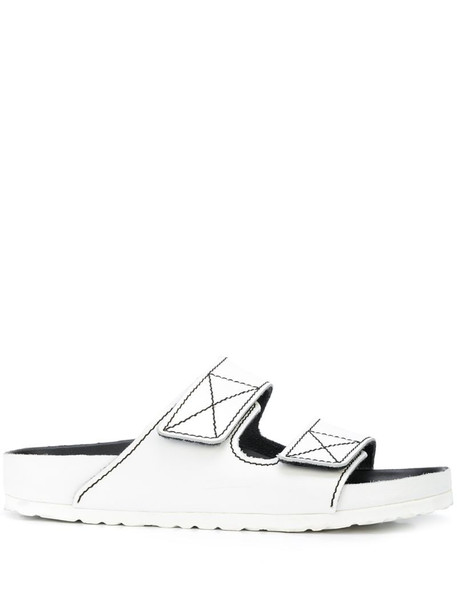 Proenza Schouler x Birkenstock Arizona slides in white