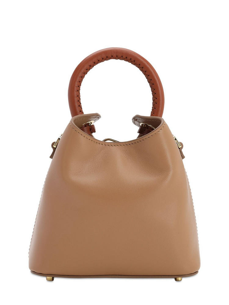 ELLEME Madeleine Smooth Leather Bag in camel