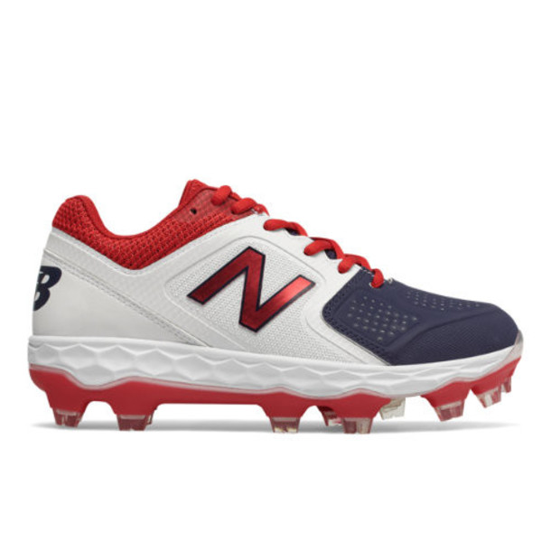 New Balance Fresh Foam SPVELO Women's Softball Shoes - Red/White/Blue (SPVELOA1)