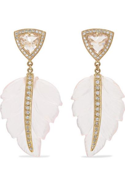 Jacquie Aiche - 14-karat Gold Multi-stone Earrings