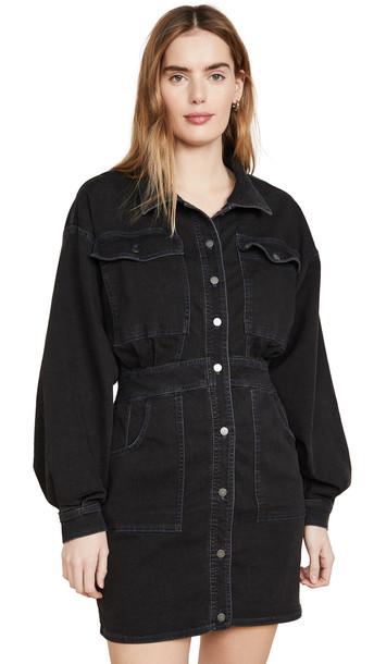 Free People Bo Dress in black