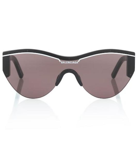 Balenciaga Ski cat sunglasses in black