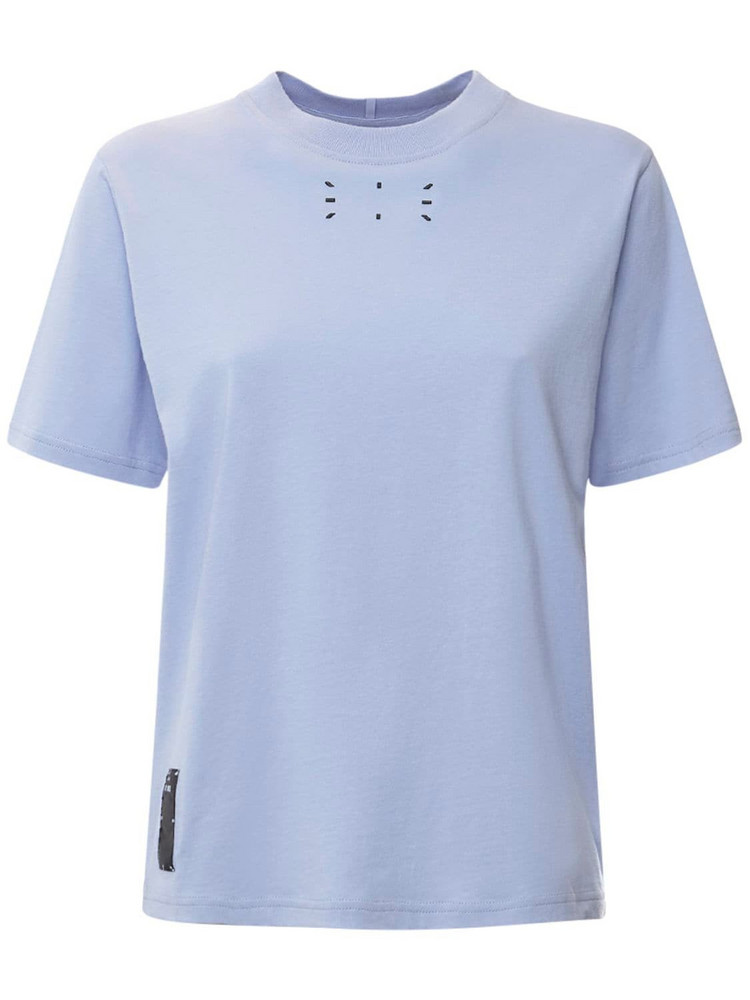 MCQ Collection 0 Cotton Jersey T-shirt in lilac