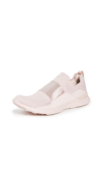 APL: Athletic Propulsion Labs TechLoom Bliss Sneakers in peach