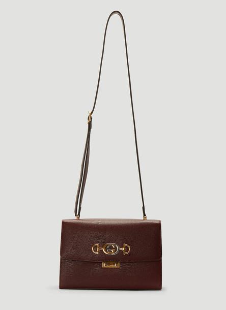 Gucci Zumi Cross-Body Bag in Purple size One Size