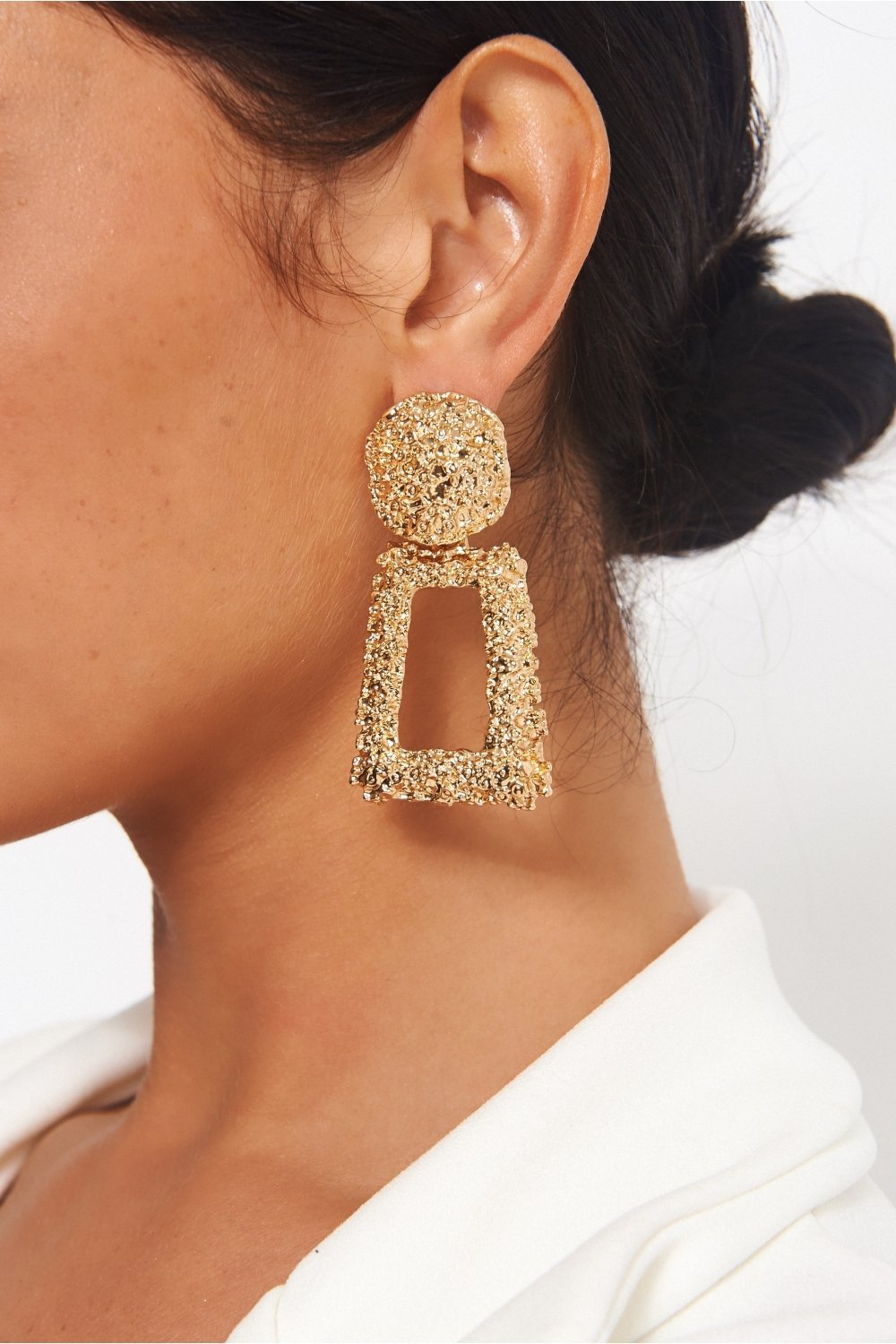 jewels gold earrings statement earrings cluster earrings zara earrings