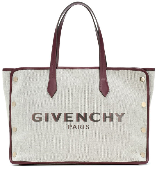 Givenchy Exclusive to Mytheresa – Bond Medium canvas shopper in beige