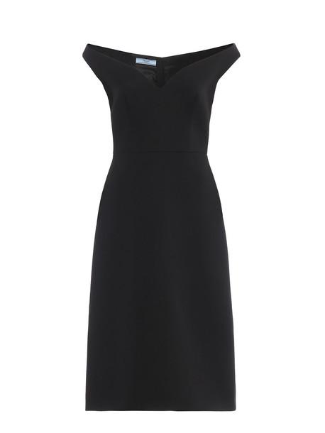Prada Dress Natte` in nero