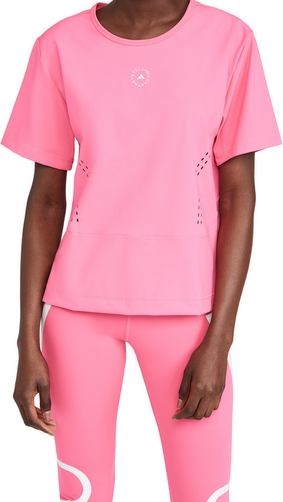 adidas by Stella McCartney Truestr L Tee in pink