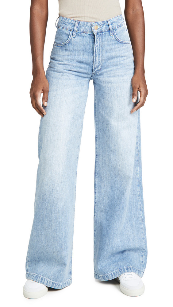 Triarchy High Rise Wide Leg Jeans in indigo
