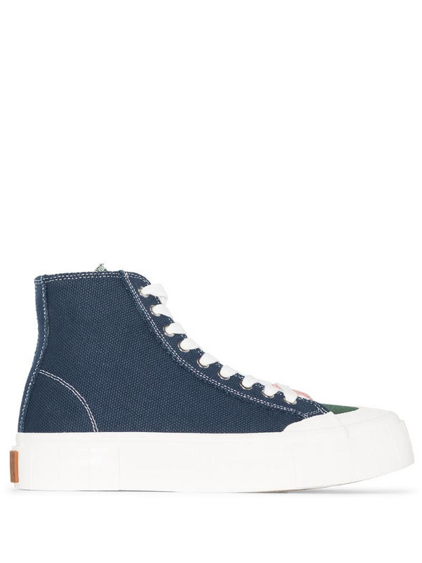 Good News Palm colour-block sneakers in blue