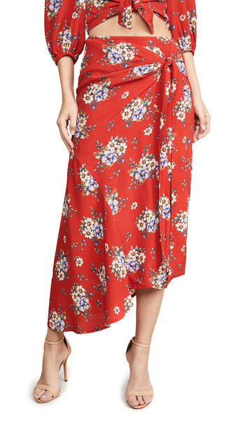 Yumi Kim Live It Up Skirt in red