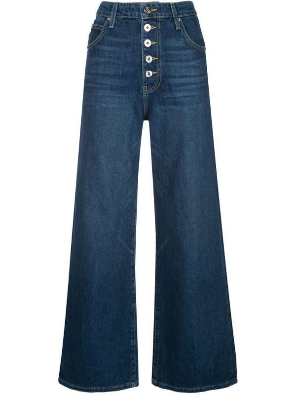 Eve Denim Charlotte wide leg jeans in blue