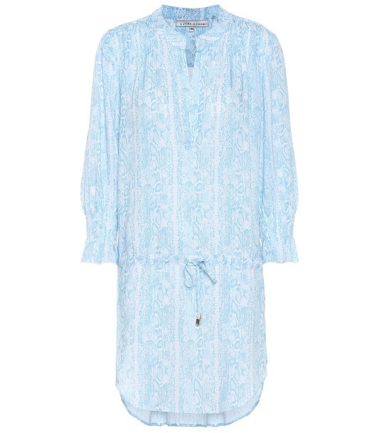 Heidi Klein Lake Manyara shirt dress in blue