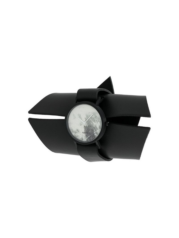 SOUTH LANE x AUMORFIA Diffuse watch in black
