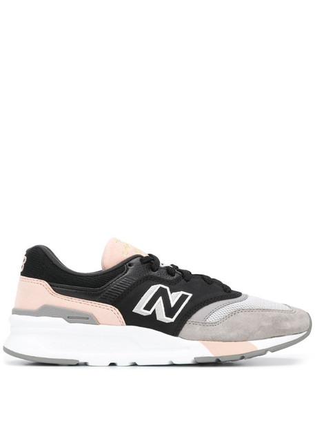New Balance HAL low top sneakers in black