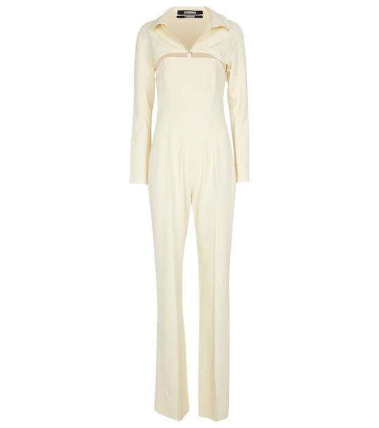 Jacquemus La Combinaison Asao jumpsuit in white