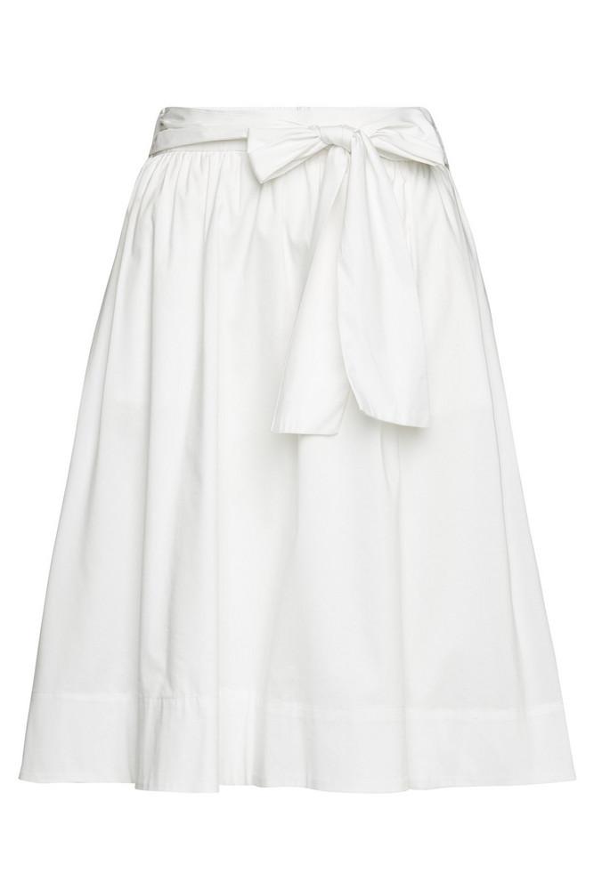 Steffen Schraut Skirt with Cotton  in white