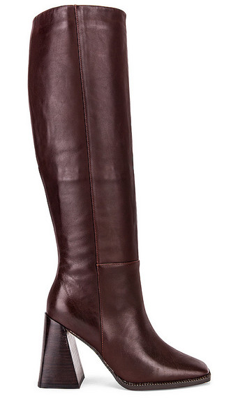 Alias Mae Tiana Knee High Boot in Brown,Burgundy in chocolate