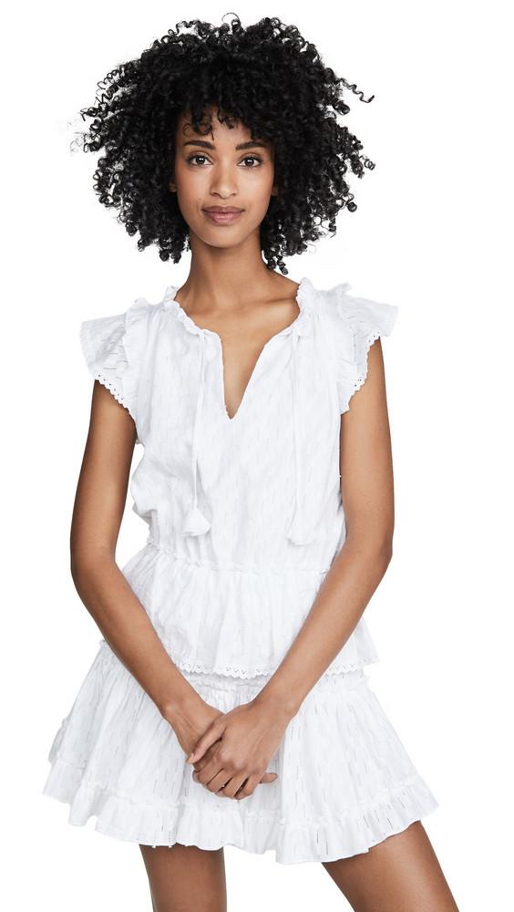 MISA Lillian Dress in white
