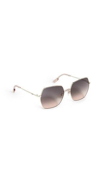 KENZO Square 70s Sunglasses in brown / gold