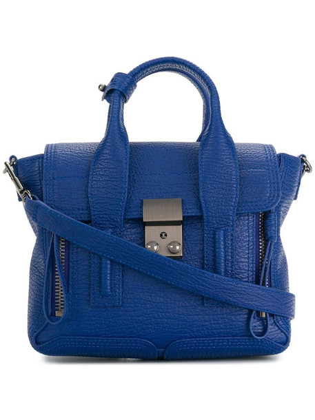 3.1 Phillip Lim Pashli mini satchel bag in blue
