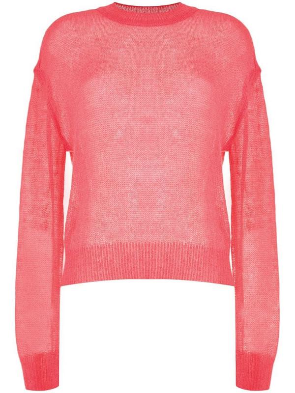 Goen.J lightweight knit jumper in pink