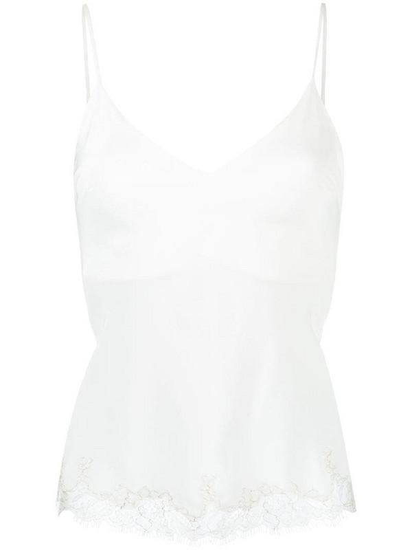 Gilda & Pearl Aurora cami top in white