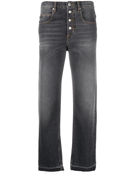 Isabel Marant Étoile Neaj cropped jeans in grey