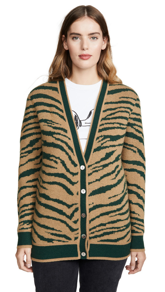 Madeleine Thompson Wally Sweater in camel / green