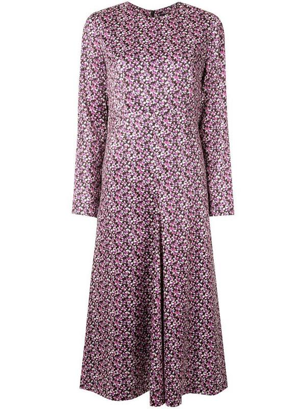 Goen.J floral print dress in pink