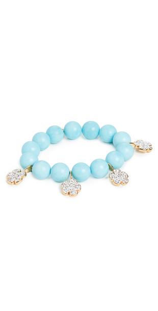 Lele Sadoughi Pave Floral Country Club Bracelet