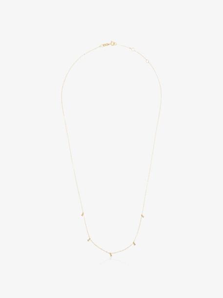 Gigi Clozeau Yellow gold diamond 18kt gold necklace
