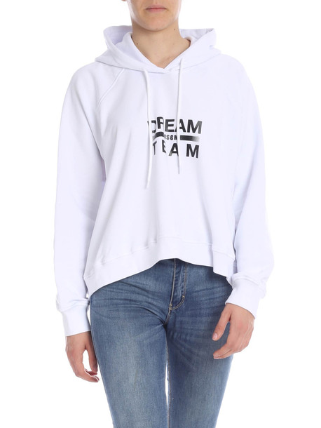 MSGM Msgm Cotton Sweatshirt in white