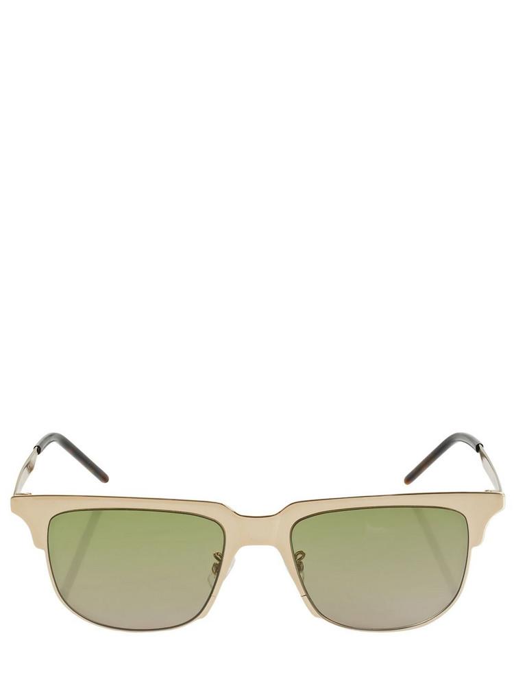 SAINT LAURENT Ysl Sl 420 Slim Metal Sunglasses in gold