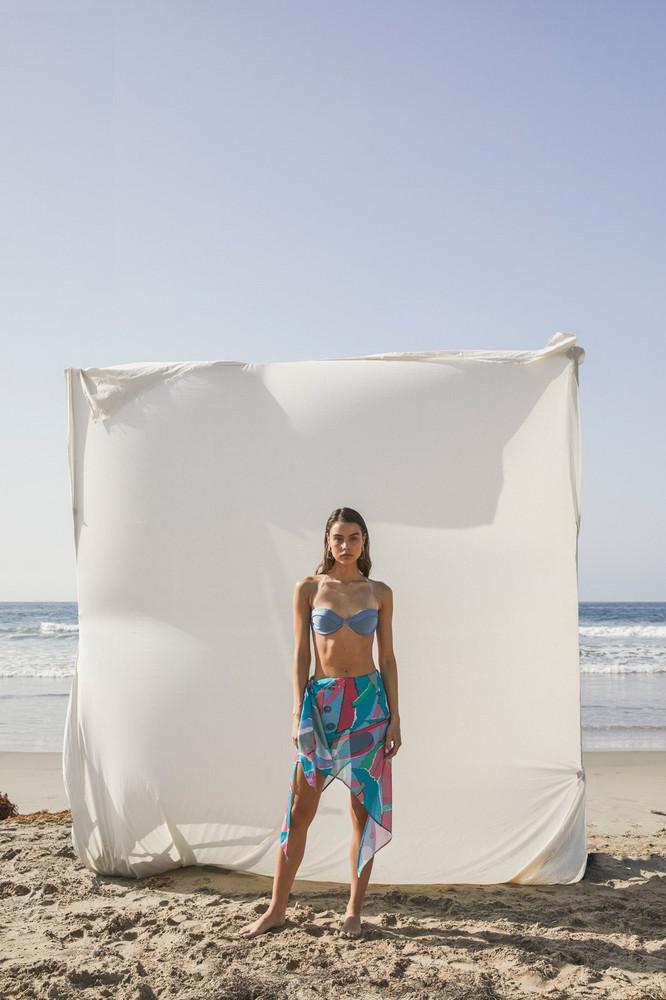 Cult Gaia Isabella Skirt - Surf Multi                                                                                               $358.00