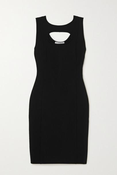 Givenchy - Cutout Stretch-crepe Dress - Black