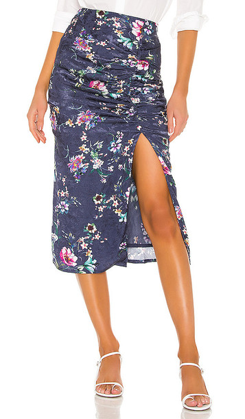 House of Harlow 1960 X REVOLVE Nayla Skirt in Blue
