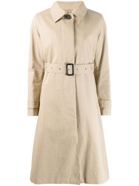 Mackintosh ROSLIN Fawn RAINTEC Cotton Single Breasted Trench Coat - LM-061FD in neutrals