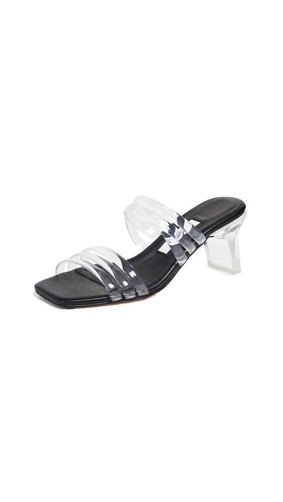 Miista Helena Slides in black