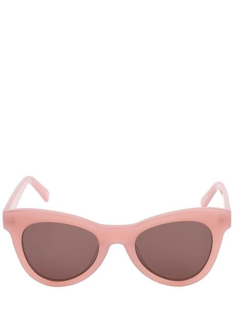 LE SPECS Dernier Acetate Sunglasses in brown / pink