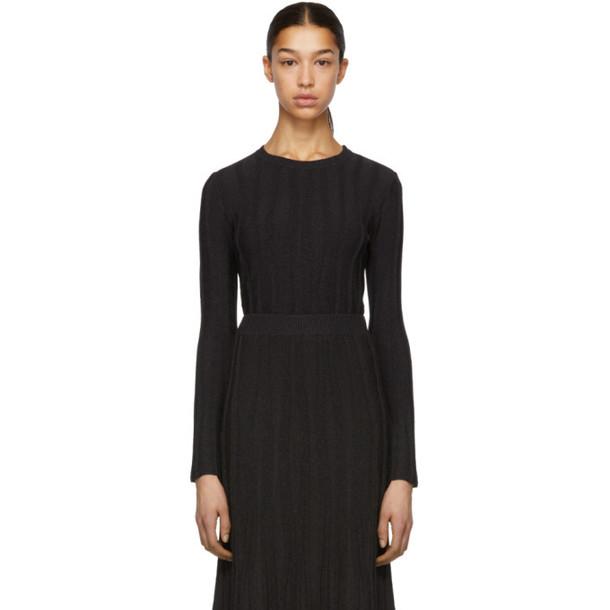 Altuzarra Black & Brown Fedelli Sweater